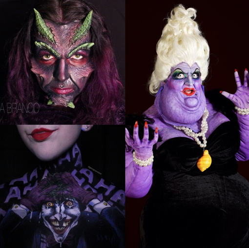 Villains Makeup Challenge